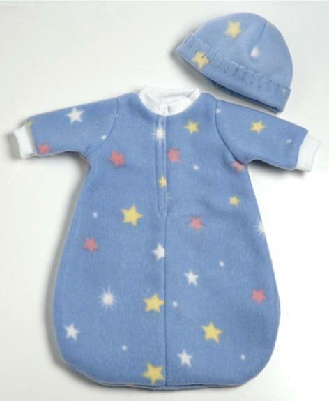 Two Piece Bunting Set - Blue