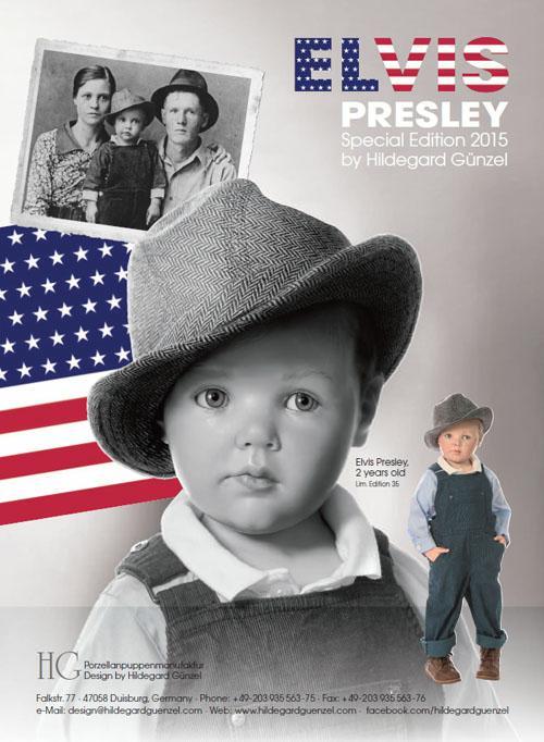 Elvis Presley - 2 Years Old
