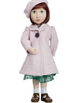Clementine's Pink Coat and Beret
