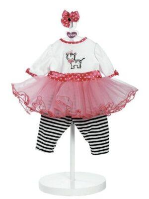 Zippy Zebra, Outfit