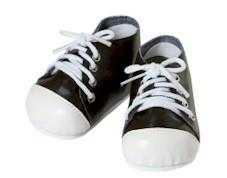 Bl/Wh Tennis Shoes