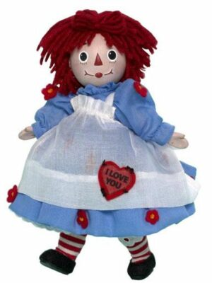 I Love You Raggedy Ann (Porcelain)