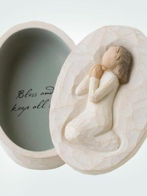 Angel of Prayer Keepsake Box