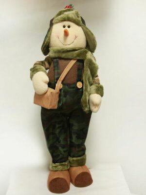 Camo Snowman