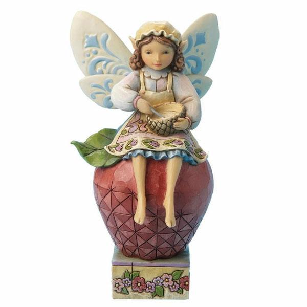 Cooking Fairy Figurine