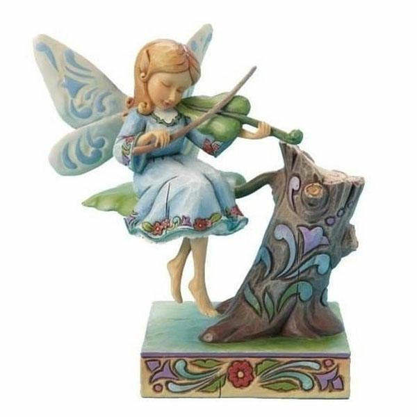 Musician Fairy Figurine