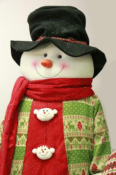 6' Holiday Snowman