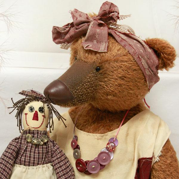 Milly with Doll