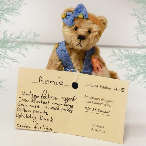 Annie by Starick Bears