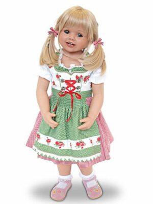 Louisa in Bavarian Costume