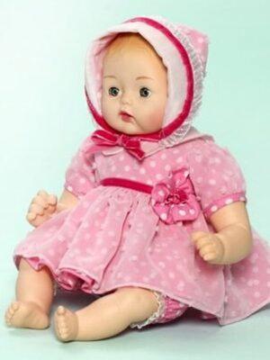 Pink Polka Dot Huggable Huggums