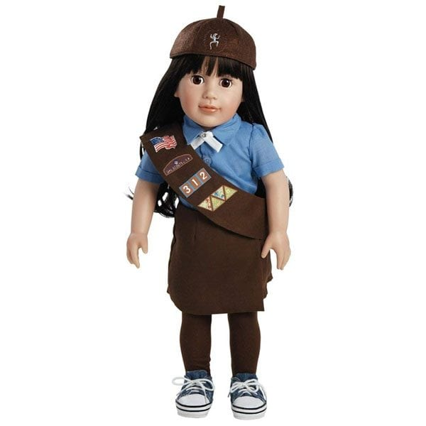 Abigail, Brownie Girl Scout