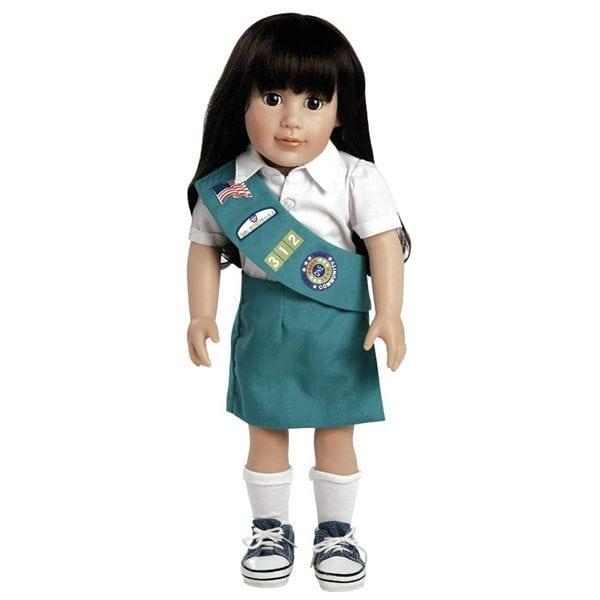 Abigail, Junior Girl Scout