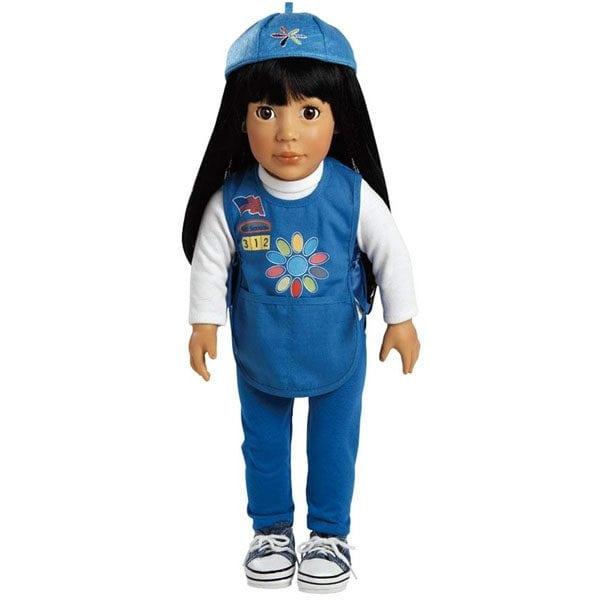 Ava, Daisy Girl Scout