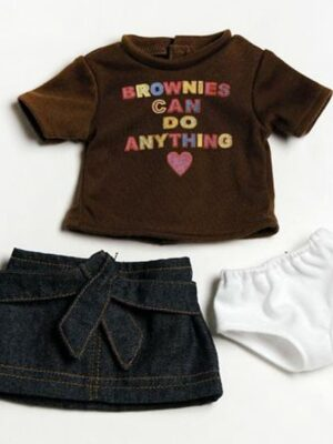 Brownie Girl Scout T-Shirt Outfit