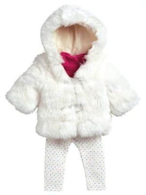 Snow Bunny Furry Coat