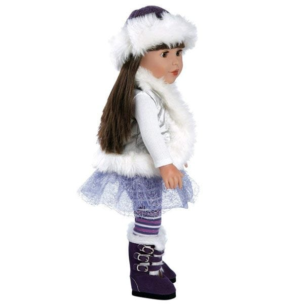 Snow Bunny Furry Vest Outfit
