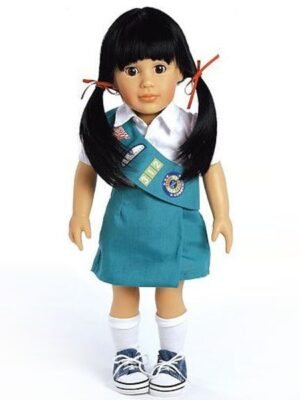 Lily, Junior Girl Scout