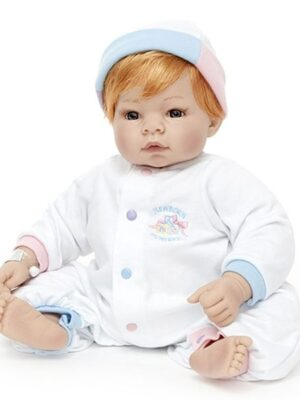 Munchkin - Blue Eyes/Strawberry Blonde Hair