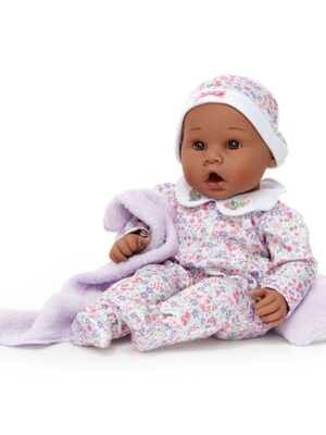 Middleton Doll Newborn Baby Lavender - African-American