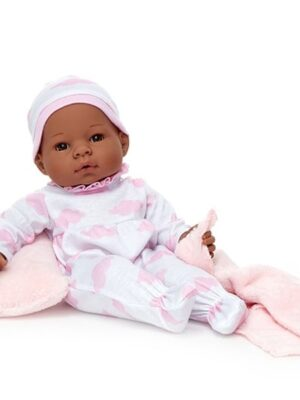 Middleton Doll Newborn Baby Pink Clouds - African-American