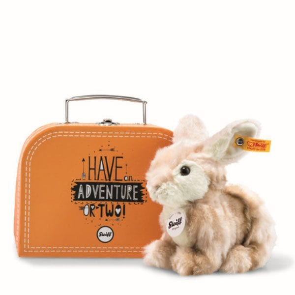 Melly Rabbit in Suitcase