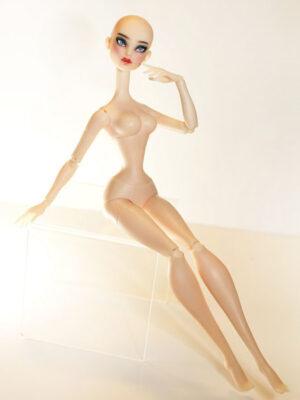 Dramatic Painted Kadira Nude - Pale