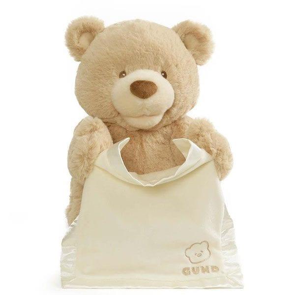 Animated Peek-A-Boo Bear