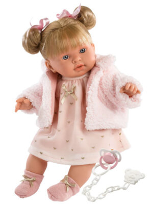 Soft Body Crying Baby Doll Abby