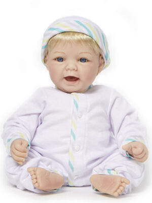 Sweet Baby Light Skin Tone Blue Eyes/Blonde Hair