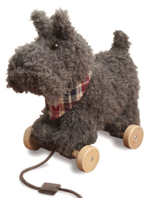 Pull-Along Toddler Toy - Scottie Dog