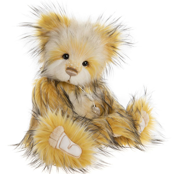 Cheese Whizz - Charlie Bears Plush Collection