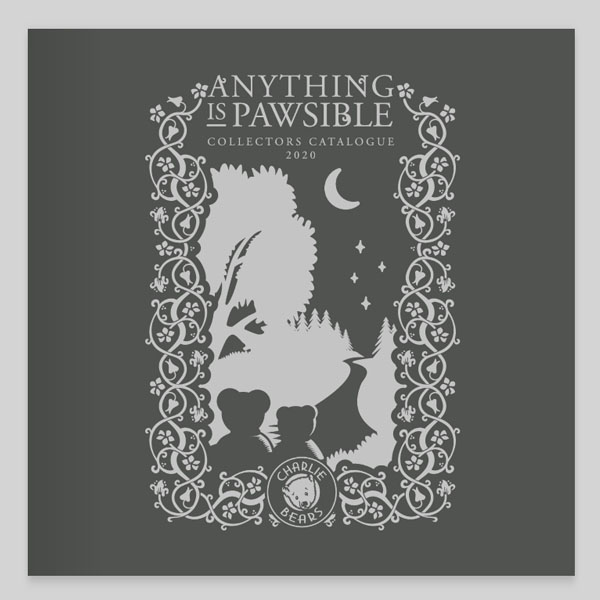 Charlie Bears - Anything is Pawsible, 2020 Catalog