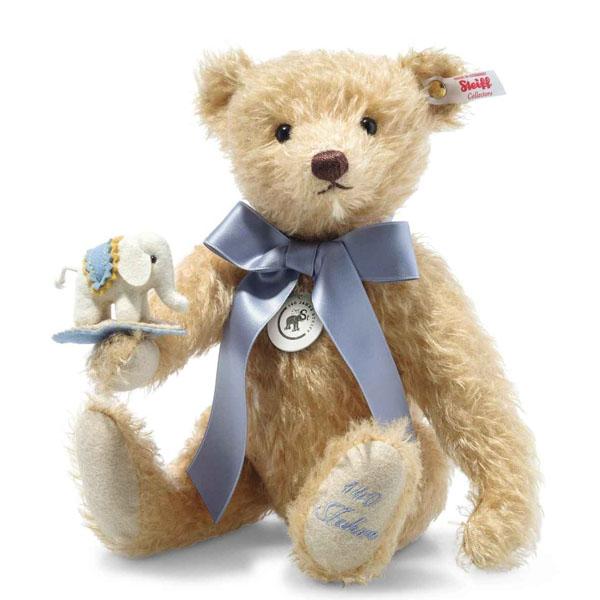 Teddy Bear with Little Felt Elephant