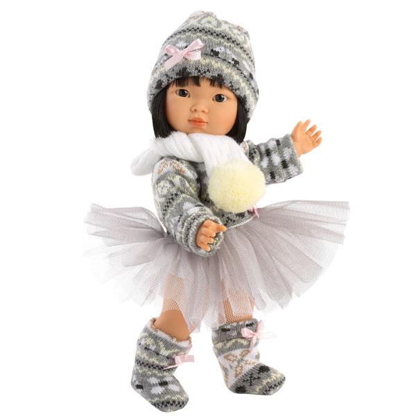 Asian Fashion Doll Aja Winter Tutu