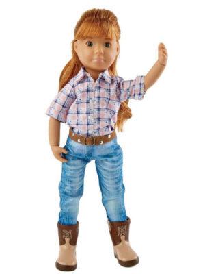 Chloe Riding Cowgirl