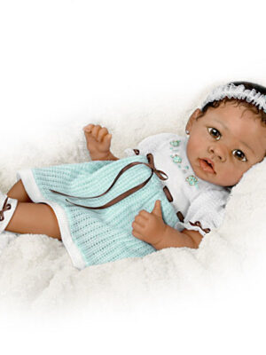 Alicia Touch-Activated Interactive Baby Girl Doll