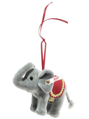 Holiday Elephant Ornament