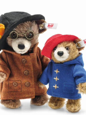 Miniature Paddington and Aunt Lucy Set