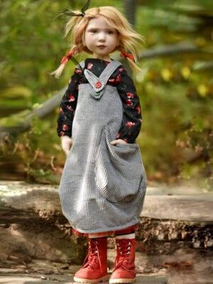 Capucine Artist Doll