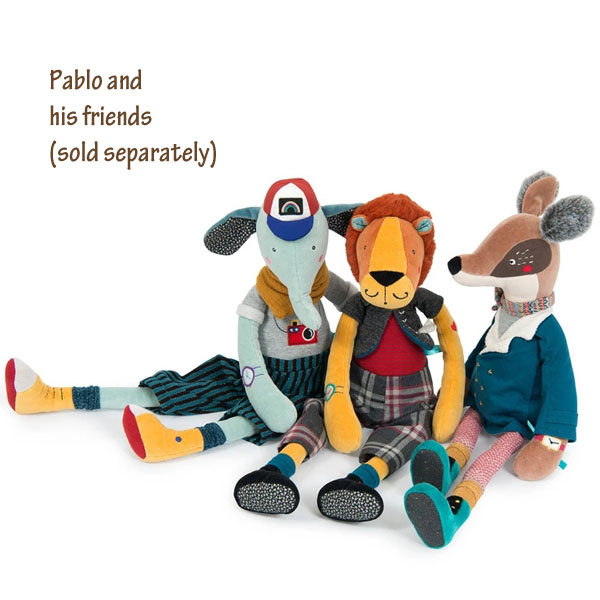 Moulin Roty Les Broc & Rolls Pablo the Elephant