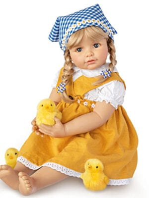 Emma With Chicks Child Doll